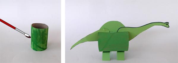 δεινόσαυρος, κατασκευές για παιδιά, χειροτεχνίες, σχολείο, εικαστικά