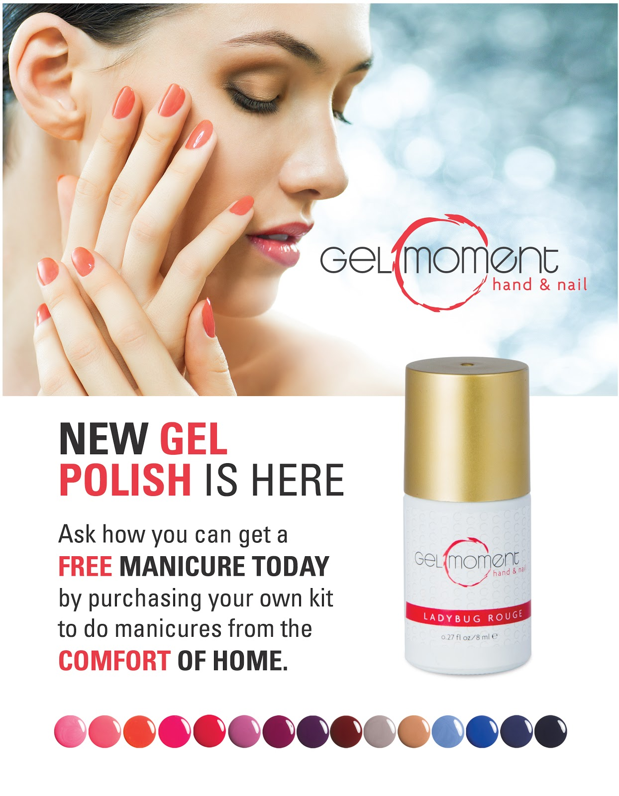 GelMoment Gel Polish Colors