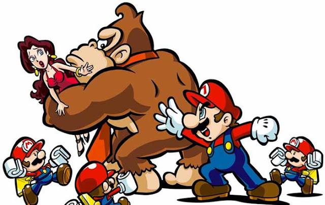 Donkey Kong vs Mario