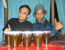 Rizal Cs Perkenalkan Bir Jawa di Medan