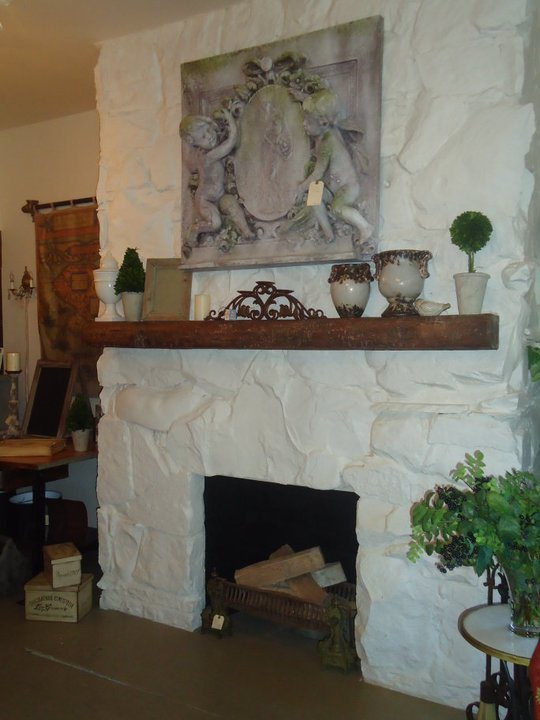Fireplace decorating rustic mantels they re not just for Rustic fireplace decor