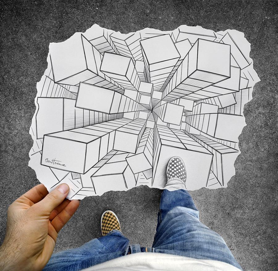 Illusions of Ben Heine