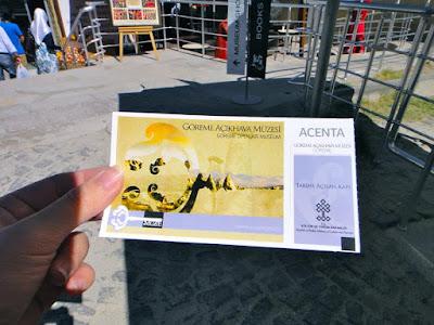 Goreme Open Air Museum Entrance Ticket