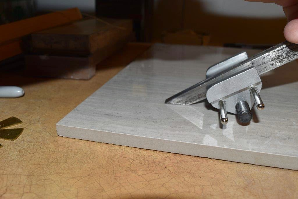 The Valley Woodworker Honing Guide Setting Jig Finished And Plane