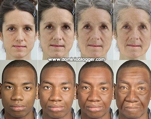 Mira como te veras de viejo con Facemyage online
