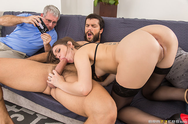 Real Wife Stories | Riley Reid - Candid Cuckold Camera
