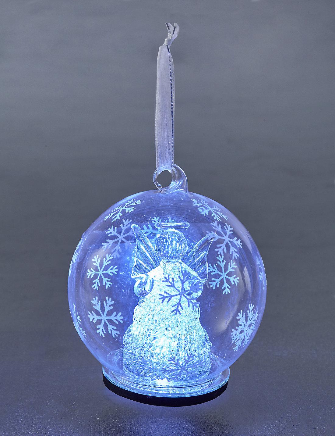 Satchel M S Pre Lit Christmas Tree Baubles