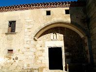 Portal d'entrada al santuari