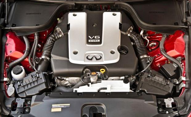 Engine 2015 Infiniti Q60