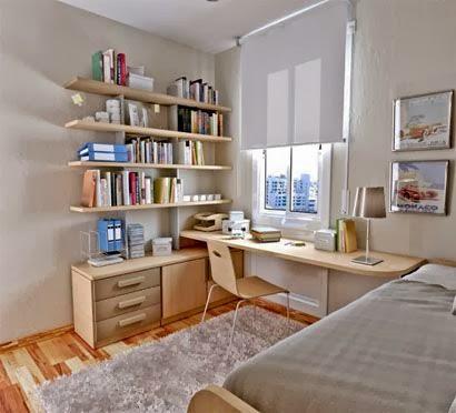 desain ruang tidur kecil minimalis