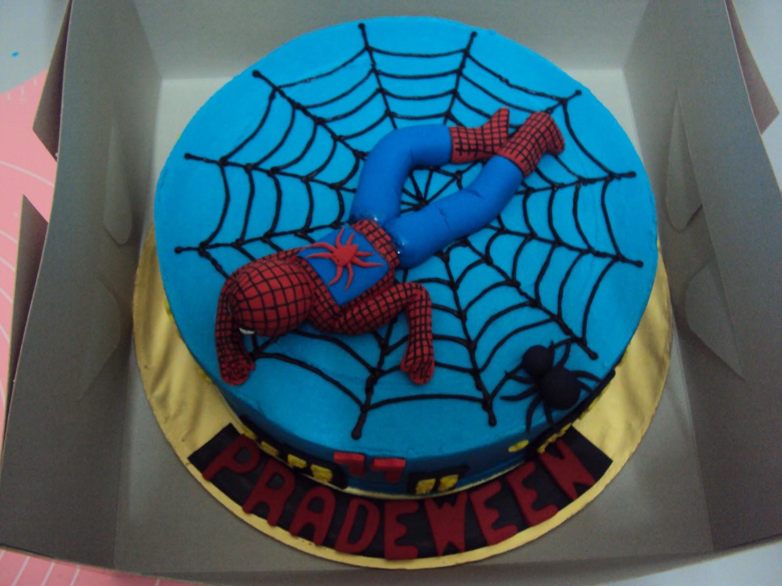 Spiderman Cake Design : L mis Cakes & Cupcakes Ipoh Contact : 012-5991233 ...