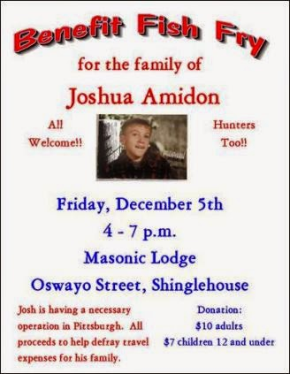12-5 Benefit Fish Fry For Joshua