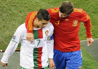 Gol Spanyol Vs Portugal Semifinal EURO 2012 | Spanyol ke Final