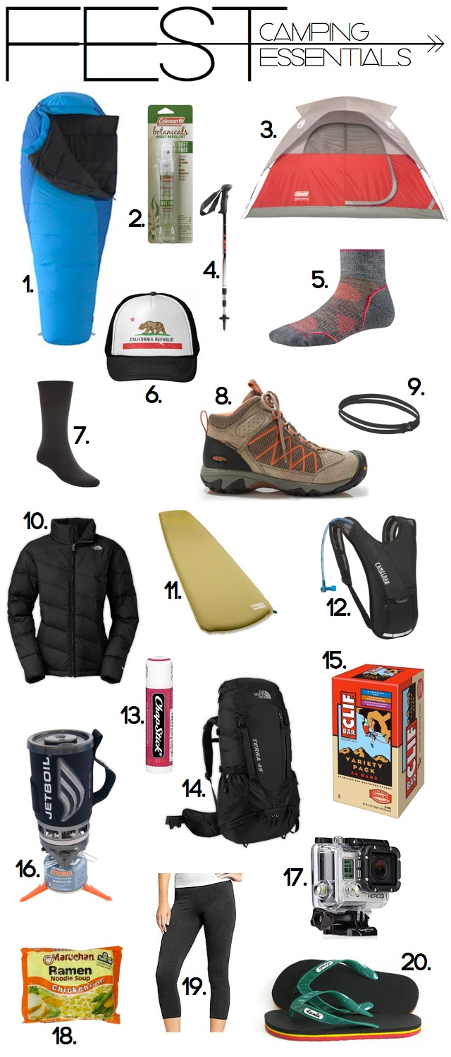 Pack These Camping Essentials And You Can Rest Easy Knowing You'll Have A Good Time. OK, I'll admit it A few years ago, I forgot to pack the sleeping bags for our weekend camping trip.
