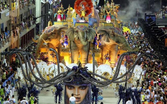 Unidos da Tijuca no carnaval do Rio de Janeiro