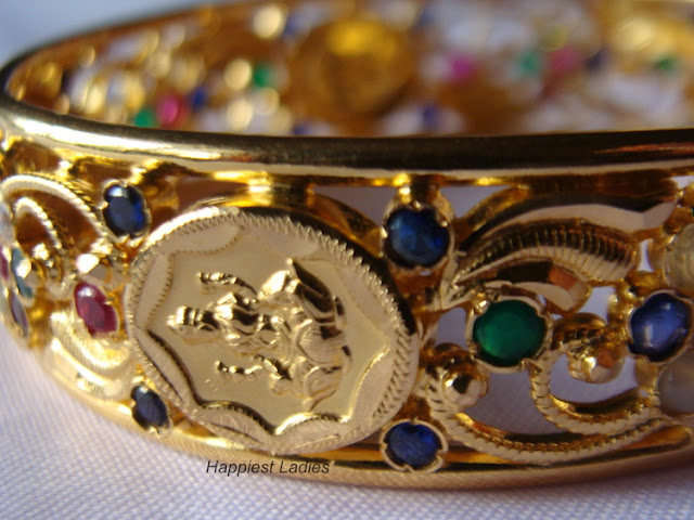 Lakshmi Gold Bangle+gold bangles