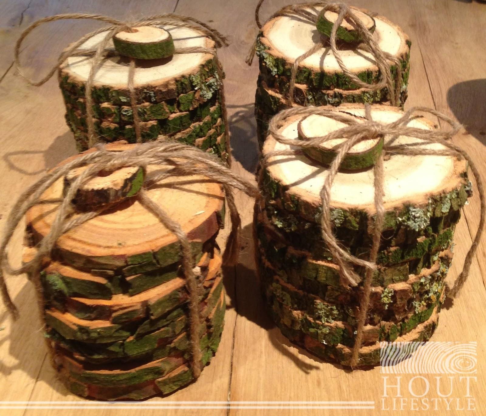 Boomschijf xenos gelakt hout verven zonder schuren for Boomschijven decoratie