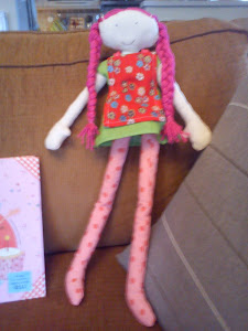 My first fabric doll
