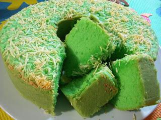 Resep Membuat Kue Bolu Pandan Keju