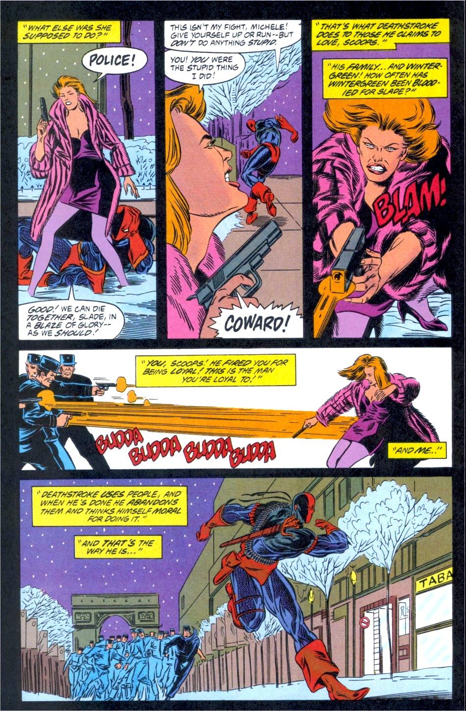 Deathstroke (1991) Issue #12 #17 - English 20