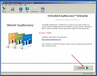 1 - Tampilan Ontrack Easy Recovery Enterprise 11 Full Versi
