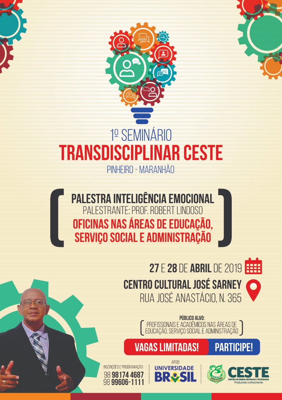 I SEMINÁRIO TRANSDISCIPLINAR CESTE- PINHEIRO-MA