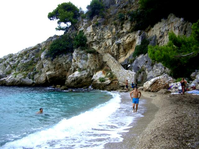 ... the actual gay nude beach itself is about a five minute hike from that ...