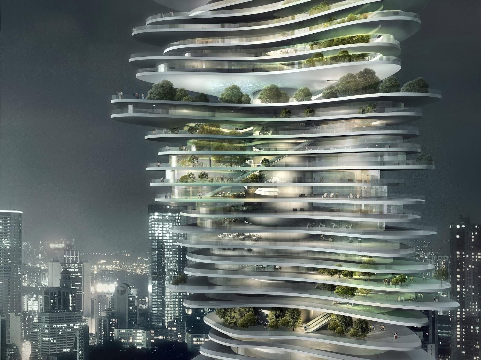 Artpla33 architecture du futur for Architecture du futur