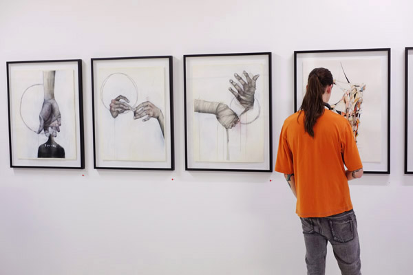 Orange Tee, tattoos, A Study of Hands Friday, October 26 at 6:00pm at China Heights
