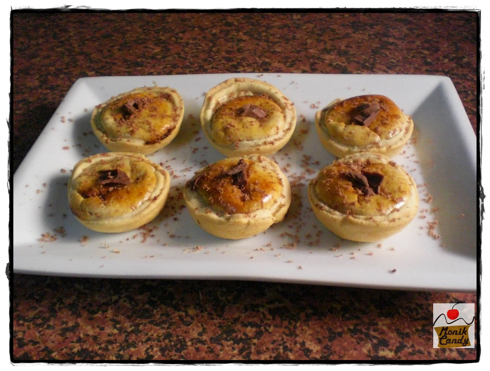 Mini Tartaletas De Queso Y Chocolate