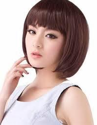 model rambut pendek untuk wajah bulat