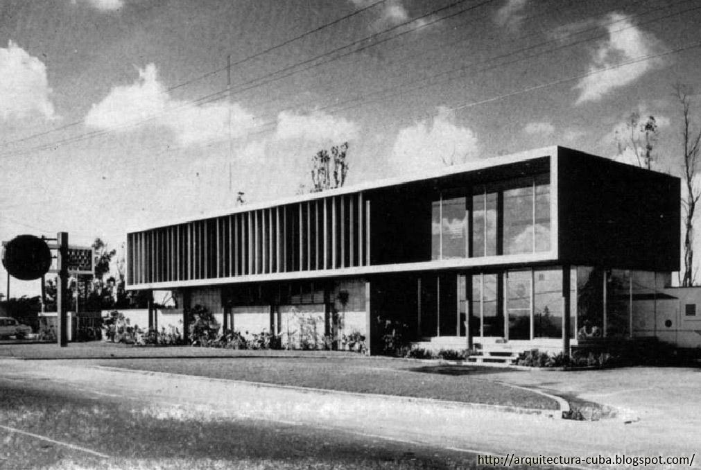 Edificio de oficinas en san catalina y boyeros 1956 - Movimiento moderno ...