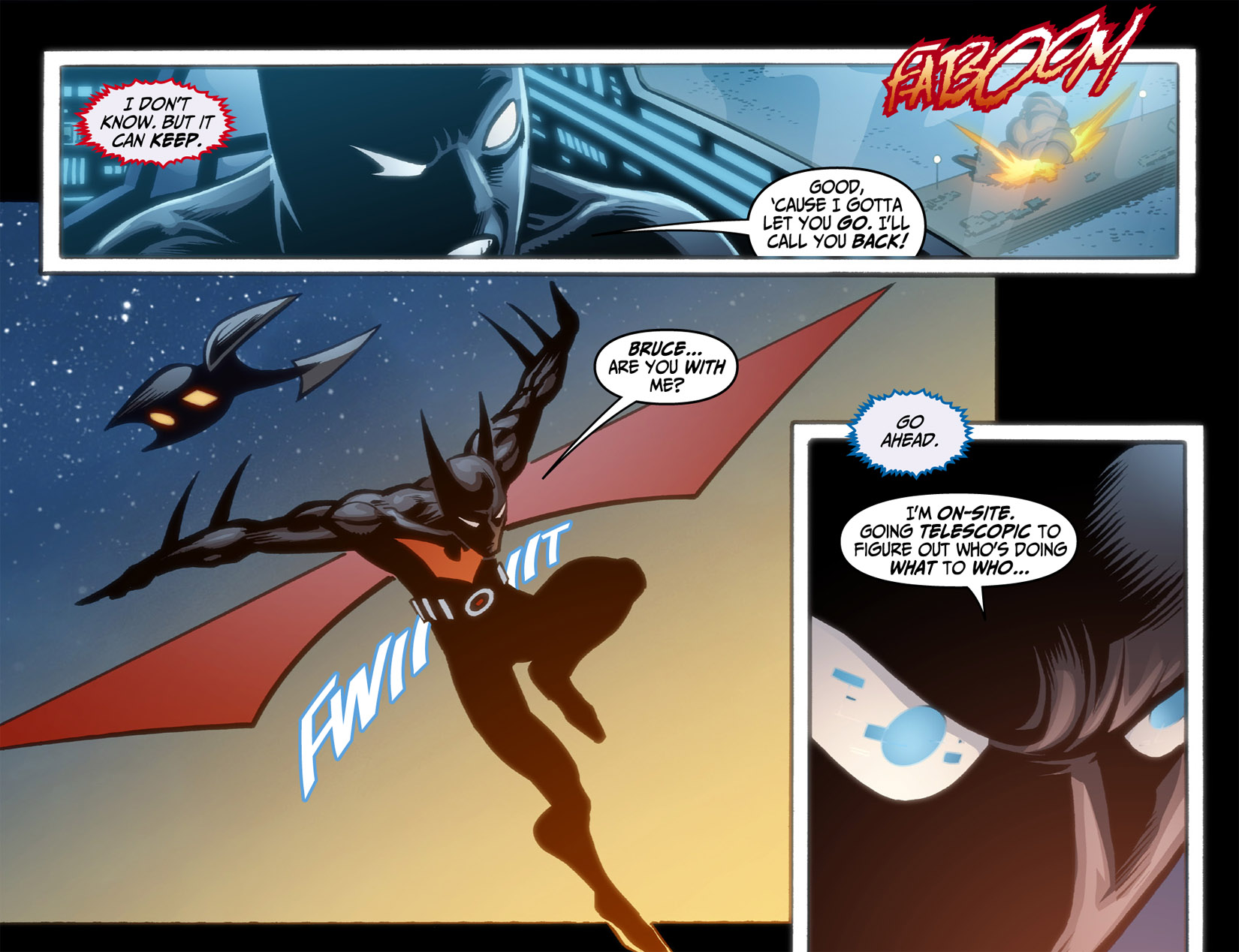 Batman Beyond (2012) Issue #4 #4 - English 8