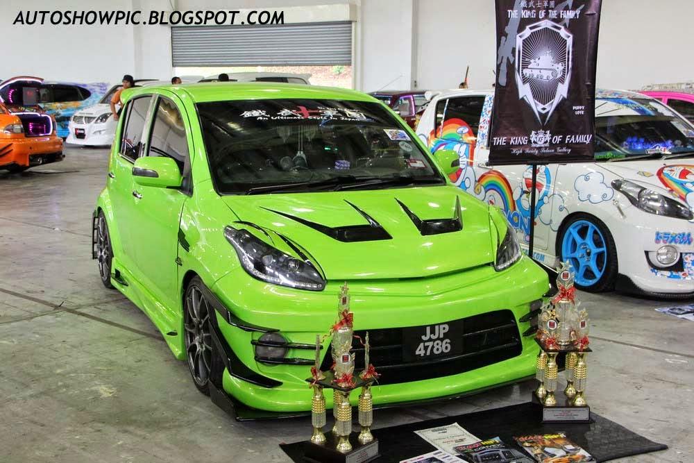 Creative Cars Perodua Myvi With Custom Bodykit