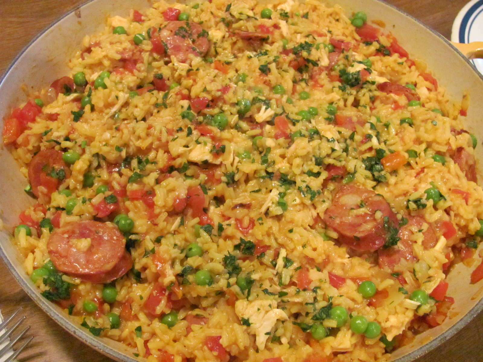 paella easy paella recipe myrecipes com quick and easy paella easy ...