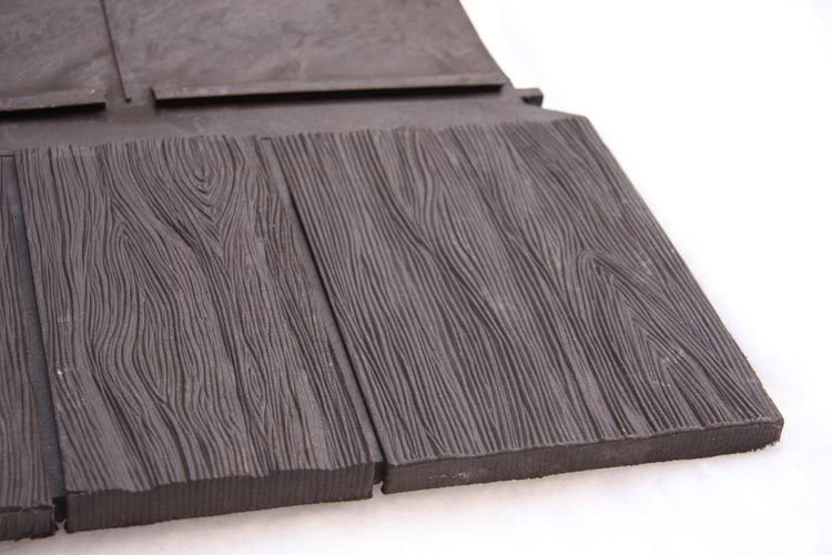 Euroshield rubber roof tiles archre think for Roofing product