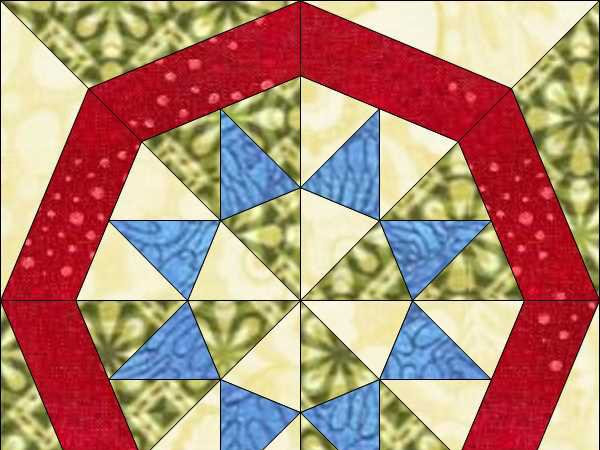 EQ7 Summer Series - Block 2 - Foundation Piecing