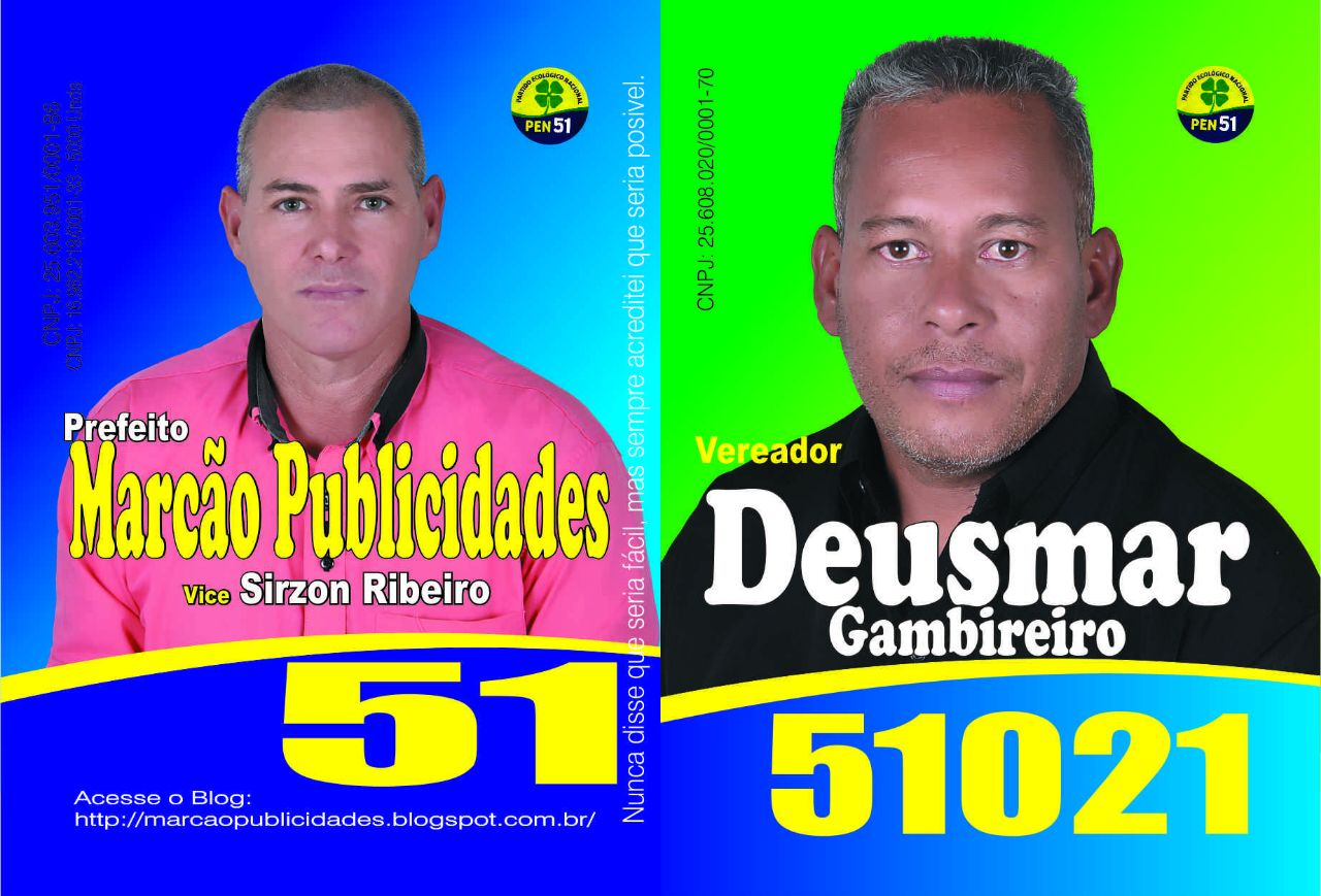 Candidatos a vereadores do PEN