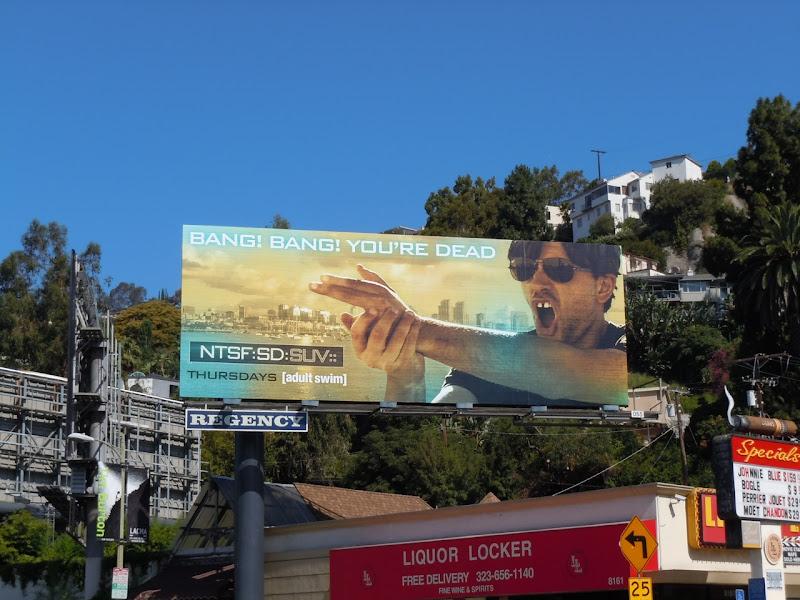 Bang Bang You're Dead billboard