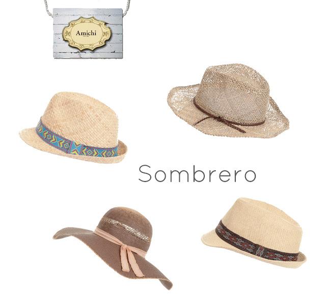 Sombreros Playa Amichi
