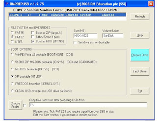 Tutorial Cara Instal Windows XP dengan Flashdisk