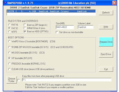 Tutorial Cara Instal Windows XP dengan Flashdisk