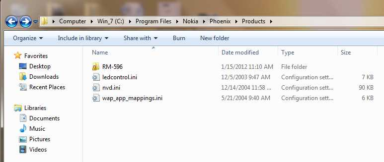 """Launch the Phoenix Service Software. Select """"USB1 - RM596"""" from the"""