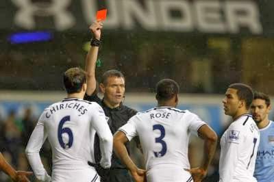 Danny Rose sending off rescinded
