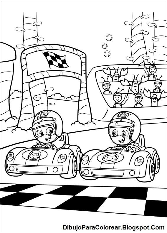 Dibujos Para Colorear Colorear Bubble Guppies