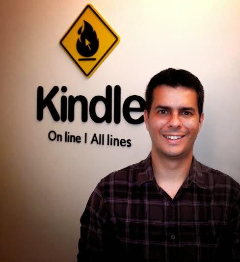 Kindle contrata Carlos Gusmão para a sua criação