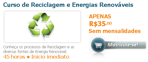 Curso de Reciclagem e Energias Renováveis