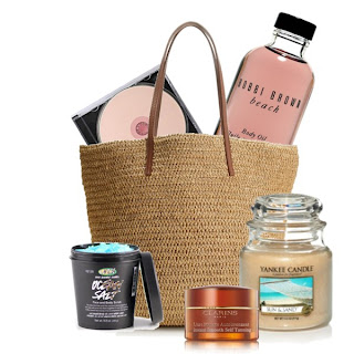 beach bag beauty