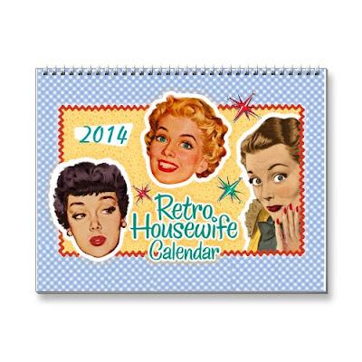 2014 Funny Retro Housewife Calendar