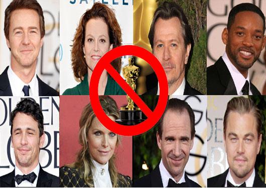 Grandes actores sin Oscar